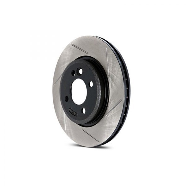 FRONT POWER SLOT SLOTTED SPORT BRAKE ROTORS