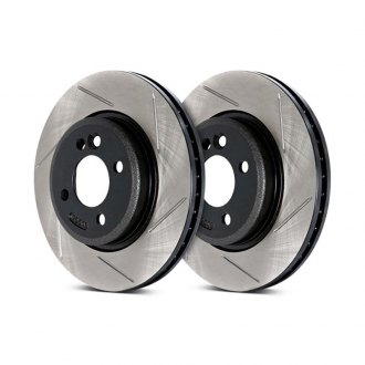 StopTech® - Sport Slotted Vented 1-Piece Rear Brake Rotor