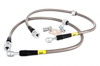StopTech® 950.40502 - Rear Stainless Steel Brake Lines