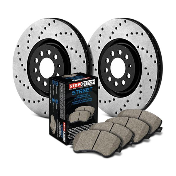 StopTech® - Street Drilled Front and Rear Brake Kit