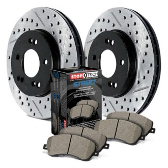 StopTech® - Street Drilled and Slotted Brake Kit