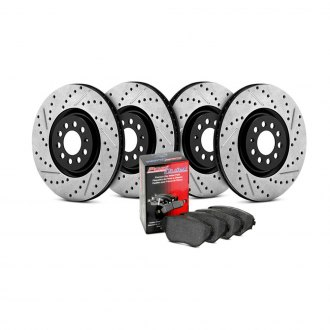 StopTech® - Drilled and Slotted Street Brake Kit