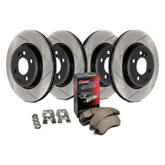 StopTech® - Street Slotted Front and Rear Brake Kit