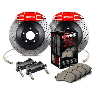 StopTech® - Touring Drilled Front Brake Kit