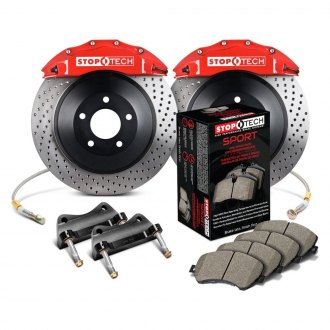 StopTech® - Drilled Touring Front Big Brake Kit