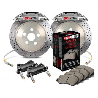 StopTech® - Drilled Trophy Front Big Brake Kit