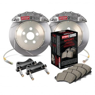 StopTech® - Slotted Trophy Front Big Brake Kit
