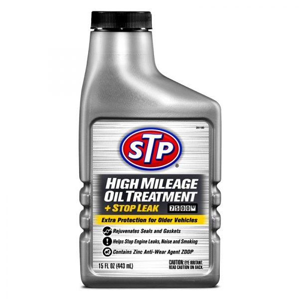 Stp 78595 High Mileage Oil Treatment Stop Leak 15 Oz