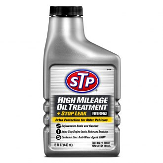 STP® - High Mileage Oil Treatment +Stop Leak 15 oz