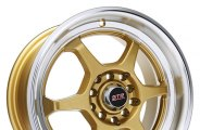 STR-RACING® - STR501 Gold with Machined Lip