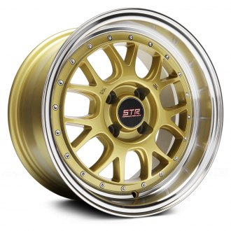 STR-RACING® - STR502 Gold with Machined Lip