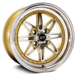 STR-RACING® - STR505 Gold with Machined Face and Lip