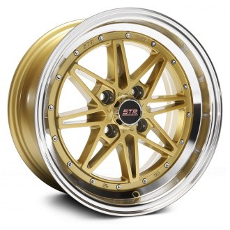 STR-RACING® - STR505 Gold with Machined Lip