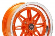 STR-RACING® - STR505 Orange with Machined Lip