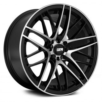 STR-RACING® - STR511 Black with Machined Face