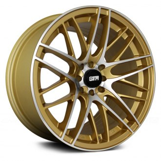 STR-RACING® - STR511 Gold with Machined Face