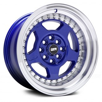 STR-RACING® - STR512 Blue with Machined Lip