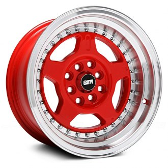 STR-RACING® - STR512 Red with Machined Lip