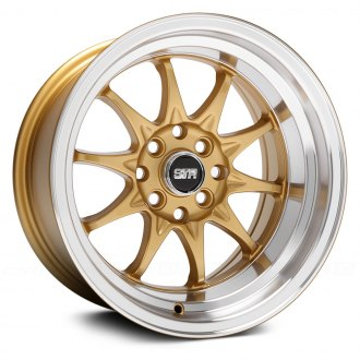 STR-RACING® - STR513 Gold with Machined Lip