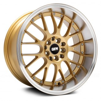 STR-RACING® - STR514 Gold with Machined Lip
