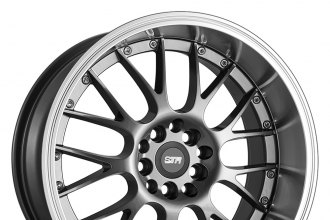 STR-RACING® - STR514 Gunmetal with Machined Lip