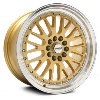 STR-RACING® - STR520 Gold with Machined Lip