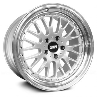 STR-RACING® - STR520 Silver with Machined Face