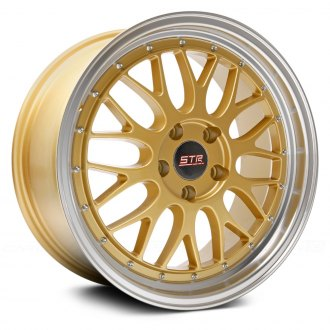 STR-RACING® - STR601 Gold with Machined Lip