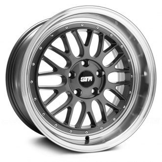 STR-RACING® - STR601 Gunmetal with Machined Lip