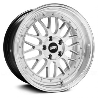 STR-RACING® - STR601 Hyper Silver with Machined Lip