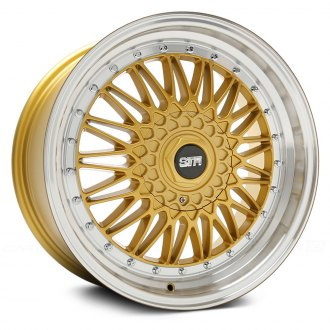 STR-RACING® - STR606 Gold with Machined Lip