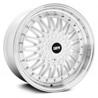 STR-RACING® - STR606 White with Machined Lip
