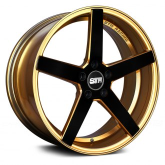 STR-RACING® - STR607 Gold with Black Face