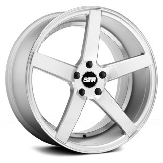 STR-RACING® - STR607 Silver with Machined Face