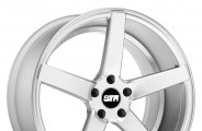"STR-RACING® - STR607 Silver (19"" x 8.5"", +35 Offset, 5x112 Bolt Pattern, 66.67mm Hub)"