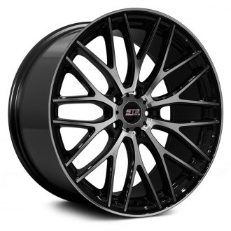 STR-RACING® - STR615 Black with Machined Face