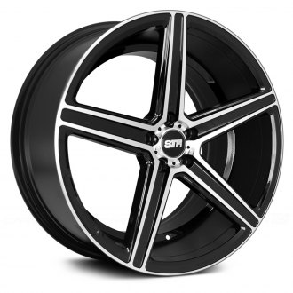 STR-RACING® - STR617 Black with Machined Face