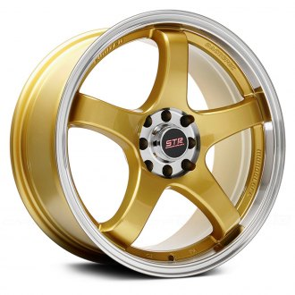 STR-RACING® - STR706 Gold with Machined Lip