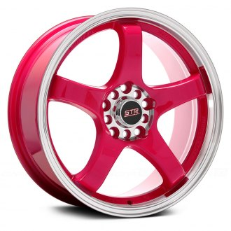 STR-RACING® - STR706 Pink with Machined Lip