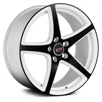 STR-RACING® - STR801 White with Black Face