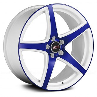 STR RACING® - STR801 White with Blue Face