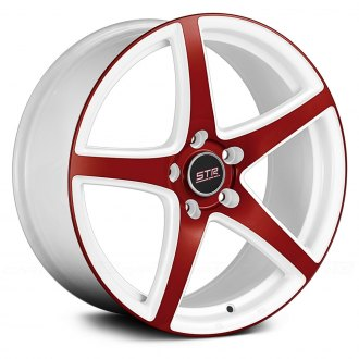 STR RACING® - STR801 White with Red Face