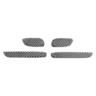 Street Scene® - 4-Pc Speed Series Black Chrome Mesh Main Grille