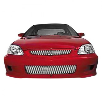 Street Scene® - 1-Pc Speed Series OE Style Satin Mesh Bumper Grille