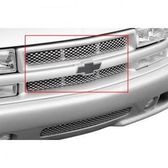 Street Scene® - 2-Pc Speed Series Polished Mesh Main Grille