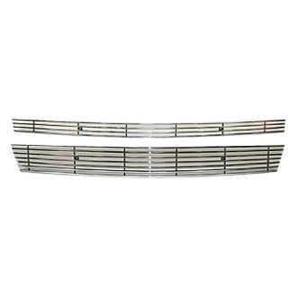 Street Scene® - 2-Pc Polished 4mm Billet Grille