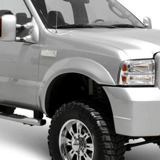 Street Scene® - Box Style Polyurethane Front and Rear Fender Flares (Unpainted)