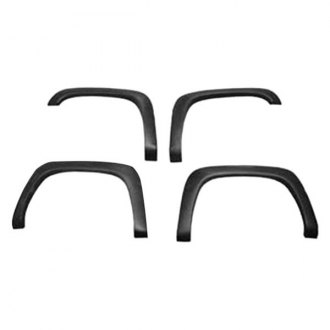 Street Scene® - Round Style Polyurethane Front and Rear Fender Flares (Unpainted)