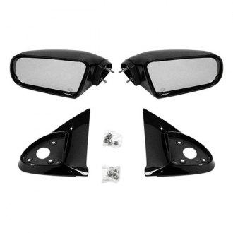IPCW CMR-97DK Black Sportage Style Manual Side Mirror Pair