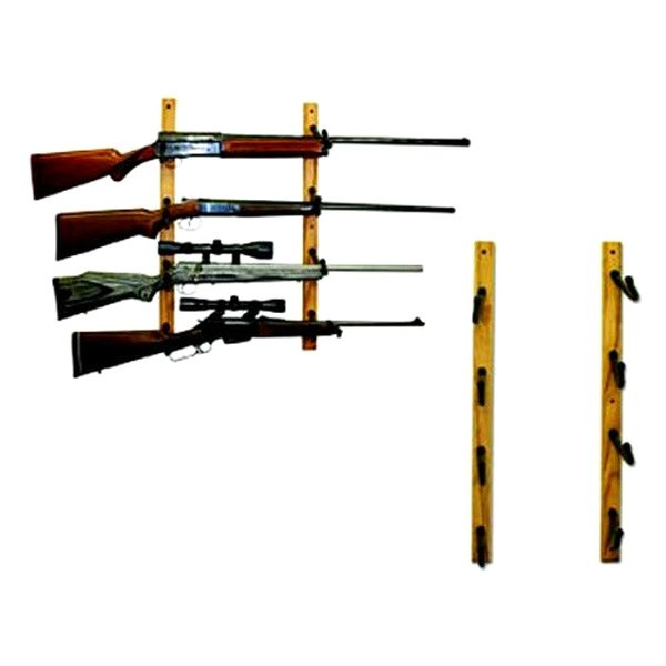 String swing sw hd12 rifle fishing rod wall display rack for Fishing rod wall rack